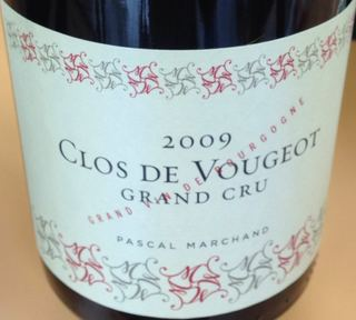 Pascal Marchand Clos de Vougeot Grand Cru(パスカル・マルシャン クロ・ド・ヴージョ グラン・クリュ)