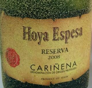 Hoya Espesa Reserva