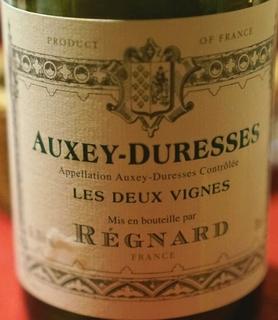 Régnard Auxey Duresses Les Deux Vignes Blanc