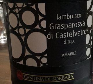 Cantina di Sorbara Lambrusco Grasparossa di Castelvetro