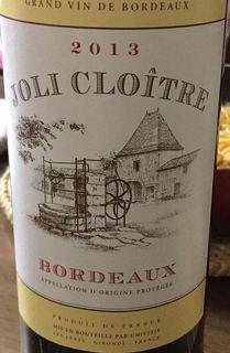 Joli Cloitre Bordeaux Rouge