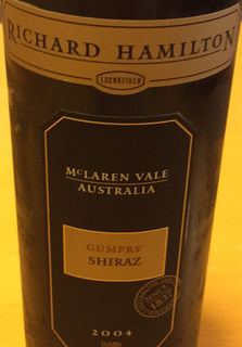 Richard Hamilton Gumprs Shiraz