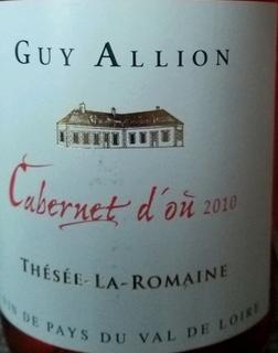 Guy Allion Cabernet d'Ou