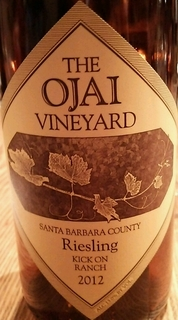 The Ojai Vineyard Riesling Kick On Ranch