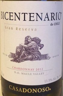 Casa Donoso Bicentenario Chardonnay Gran Reserva