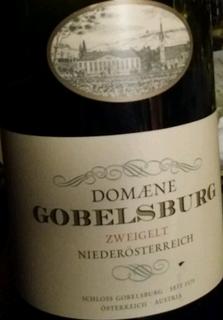 Domaene Gobelsburg Zweigelt Niederösterreich