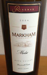 Markham Vineyards Merlot Reserve(マーカム・ヴィンヤーズ メルロ リザーブ)