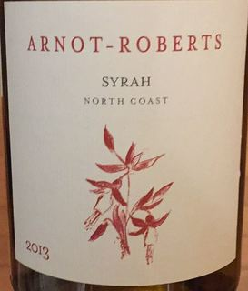 Arnot Roberts Syrah North Coast