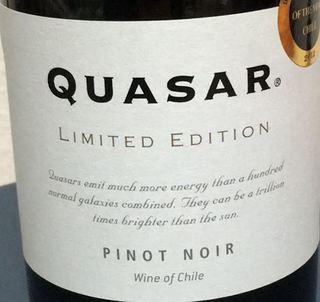 Quasar Limited Edition Pinot Noir