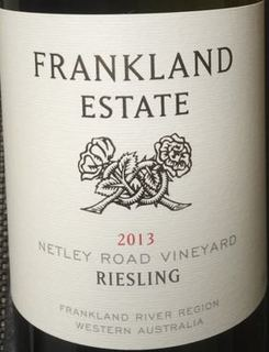 Frankland Estate Netley Road Vineyard Riesling