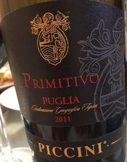 Piccini Primitivo Puglia