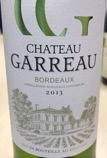 Ch. Garreau Bordeaux Blanc