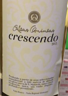 Altas Quintas Crescendo Branco(アルタス・キンタス クレッシェンド ブランコ)