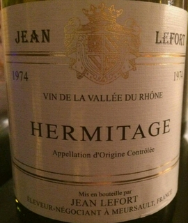 Jean Lefort Hermitage(ジャン・ルフォール エルミタージュ)