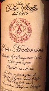 Vini della Staffa Rosso Madonnina