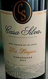 Casa Silva Los Lingues Carmenère