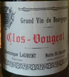 Dominique Laurent Clos Vougeot Grand Cru(ドミニク・ローラン クロ・ヴージョ グラン・クリュ)
