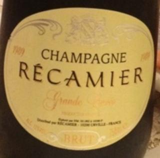 Champagne Récamier Grande Cuvée