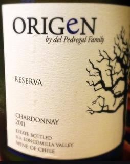 Origen Reserva Chardonnay