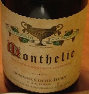 Dom. Coche Dury Monthélie Rouge
