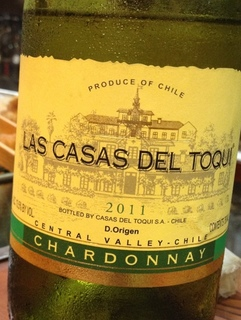Las Casas del Toqui Chardonnay(カサ・デル・トキ シャルドネ)
