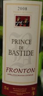 Prince de Bastide Red