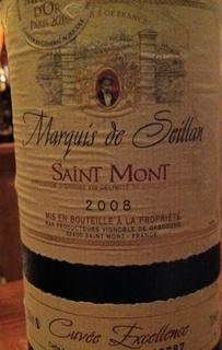 Marquis de Seillan Saint Mont