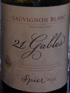 Spier 21 Gables Sauvignon Blanc