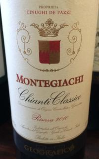 Geografico Montegiachi Chianti Classico Riserva