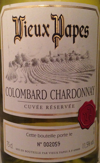 Vieux Papes Colombard Chardonnay