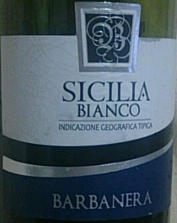 Barbanera Sicilia Bianco