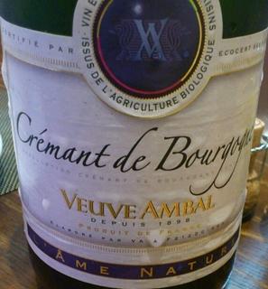 Veuve Ambal Crémant de Bourgogne L'ame Nature