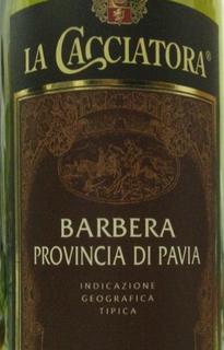 La Cacciatora Barbera Provincia di Pavia