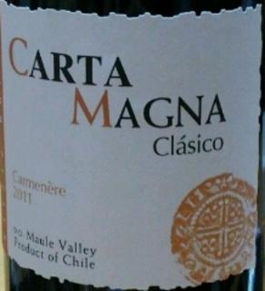 Carta Magna Clàsico Carmenére