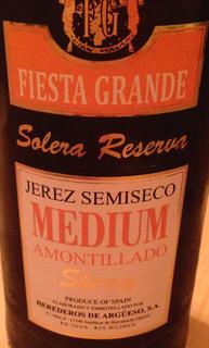 Fiesta Grande Solera Reserva Medium Sherry