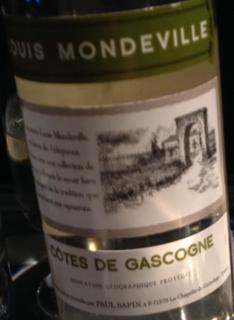 Louis Mondeville Côtes de Gascogne