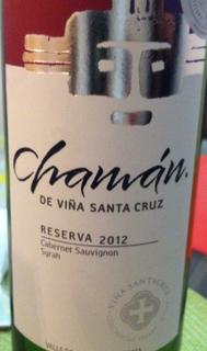 Chamán de Viña Santa Cruz Reserva Cabernet Sauvignon Syrah
