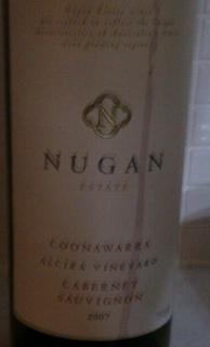 Nugan Estate Alcira Vineyards Cabernet Sauvignon