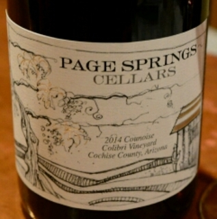 Page Springs Cellars Counoise Colibri Vineyard(ページ・スプリングス・セラーズ クノワーズ コリブリ・ヴィンヤード)