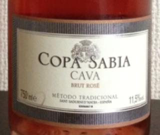Copa Sabia Brut Rosé(コパ・サビア ブリュット ロゼ)