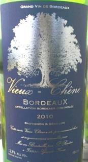 Vieux Chêne Bordeaux Blanc
