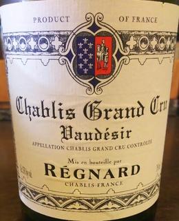 Régnard Chablis Grand Cru Vaudesir