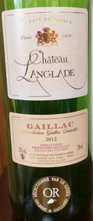 Ch. Langlade Gaillac Rouge