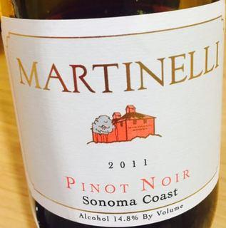 Martinelli Pinot Noir Sonoma Coast
