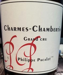 Philippe Pacalet Charmes Chambertin Grand Cru(フィリップ・パカレ シャルム・シャンベルタン グラン・クリュ)