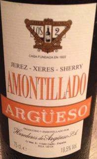 Argüeso Amontillado Sherry