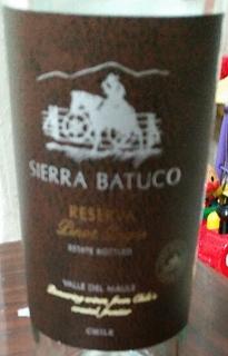 Sierra Batuco Reserva Malbec