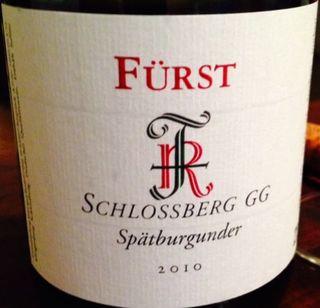 Fürst Schlossberg GG Spätburgunder