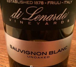 Di Lenardo Sauvignon Blanc Unoaked