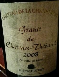 Ch. de la Chauvinière Granit de Ch. Thébaud Muscadet Sèvre et Maine